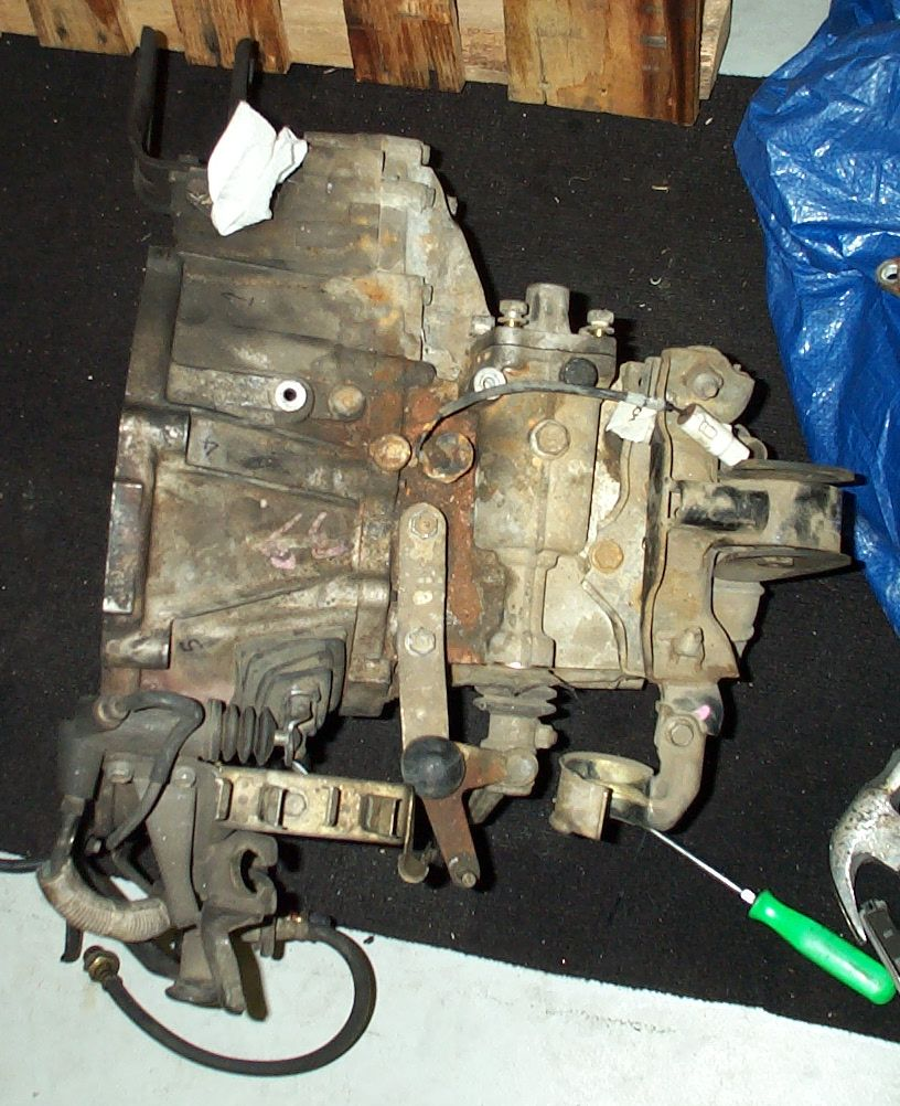 "2004 Toyota Mr2 Transmission: E51 Shift Linkage ""square Piece"""